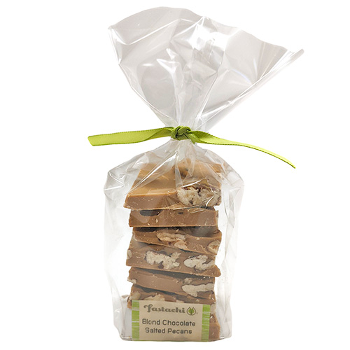 Blond Chocolate Salted Pecans - Small Gift Bag