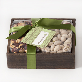 Duo Gift Tray - Cranberry Nut Mix / Salted Pistachios