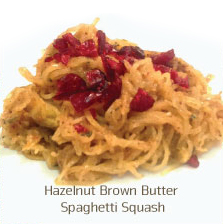 Hazelnut Brown Butter Spaghetti Squash Recipe