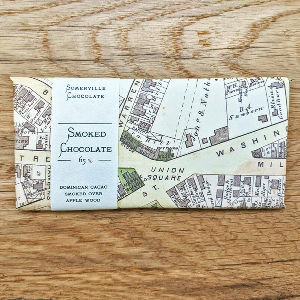 Somerville Chocolate Smoked Chocolate 65%