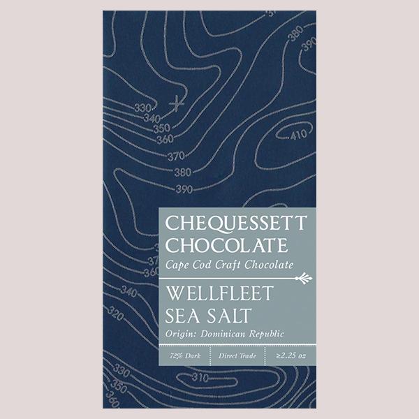Chequessett Chocolate Wellfleet Sea Salt 72%