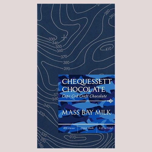 Chequessett Chocolate Mass Bay Milk 45%