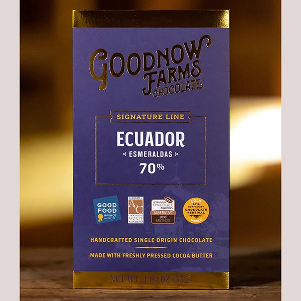 Goodnow Farms Esmeraldas Ecuador Bar 70%