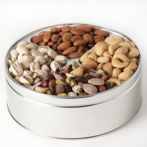 Hostess Harvest Nut Gift Tin