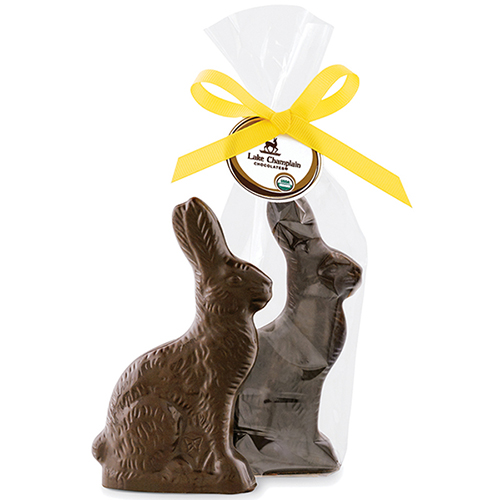 Lake Champlain Organic Dark Chocolate Bunny