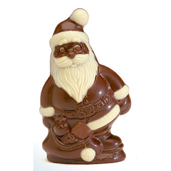 Nirvana Milk Chocolate Santa with Bag