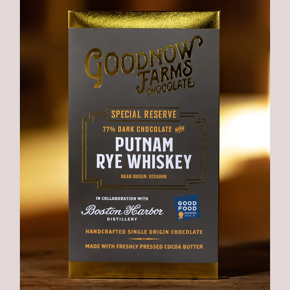 Goodnow Farms Putnam Rye Whiskey Bar 77%
