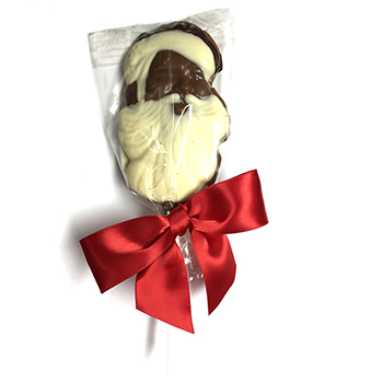 Milk Chocolate Santa Lollipop