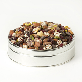 Nut Passion Gift Tin (Small) - Chocolate Nut Mix