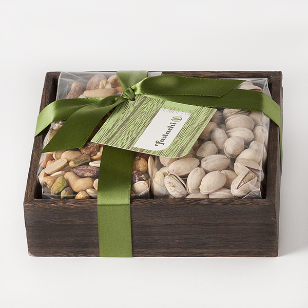 Duo Gift Tray - Extra Nutty Mix & Salted Pistachios