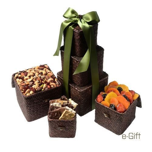 Epicure's Delight e-gift open