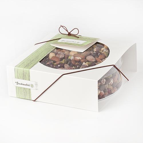 Fancy Free Frolic Gift Box - Chocolate Nut Mix