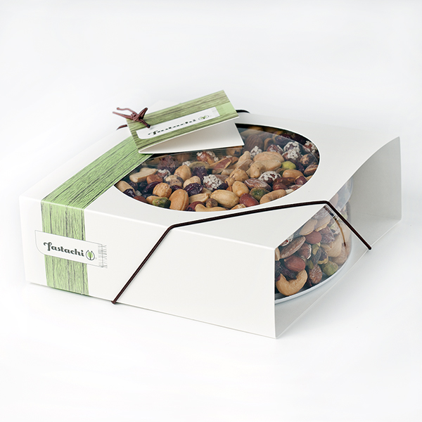 Fancy Free Frolic Gift Box - Cranberry Nut Mix