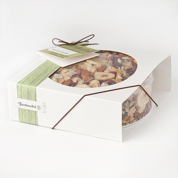 Fancy Free Frolic Gift Box - Fiesta Nut Mix
