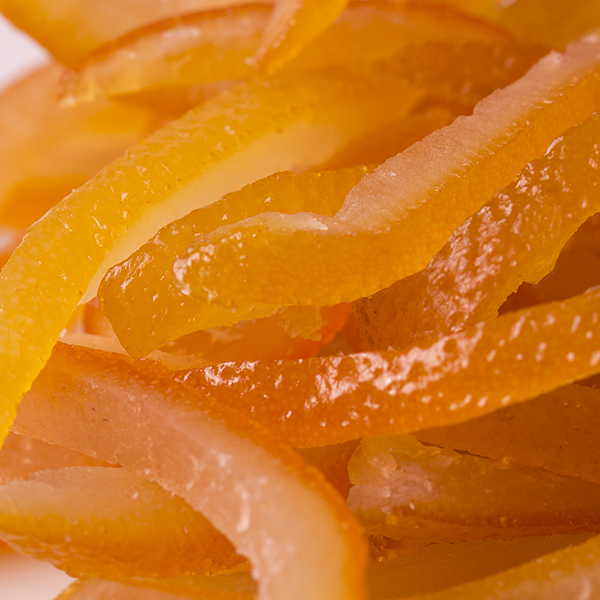 Glazed Italian Orange Peel