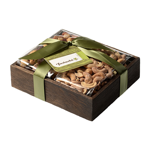 Duo Gift Tray - Cranberry Nut Mix & Salted Cashews