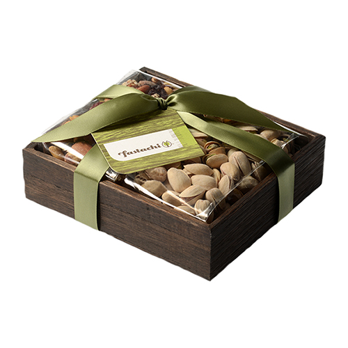 Duo Gift Tray - Cranberry Nut Mix & Salted Pistachios