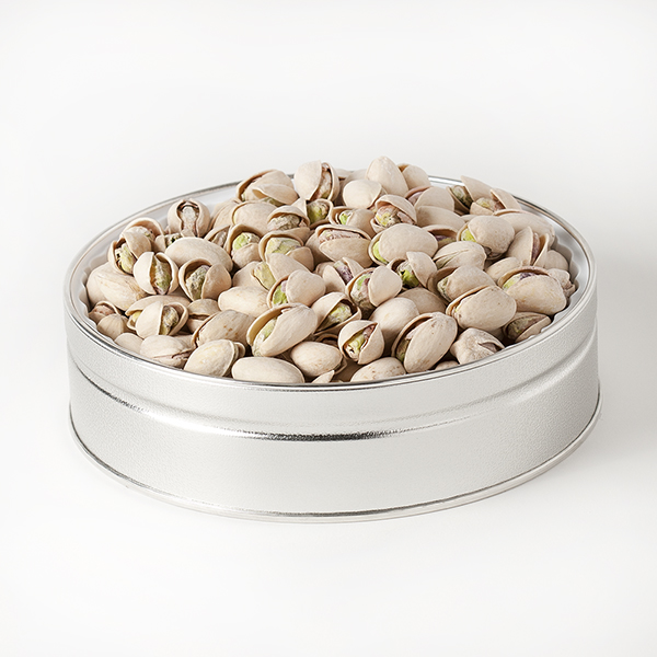 Nut Passion Gift Tin (Small) - Salted Pistachios