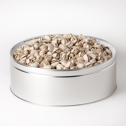 Nut Passion Gift Tin (Large) - Salted Pistachios