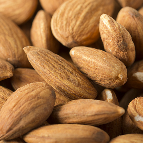 Raw Almonds - 8 oz Pouch