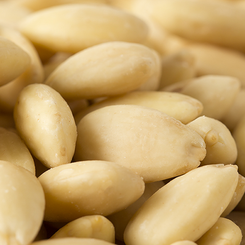 Raw Blanched Almonds - 8oz Pouch