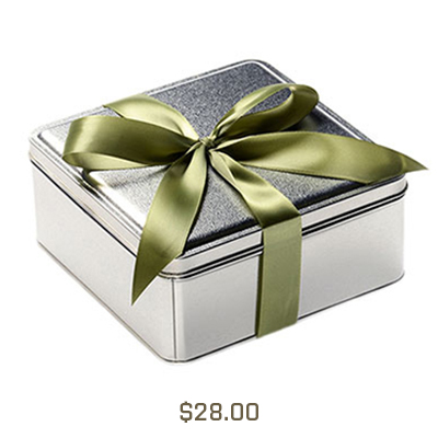 Square Gift Tins