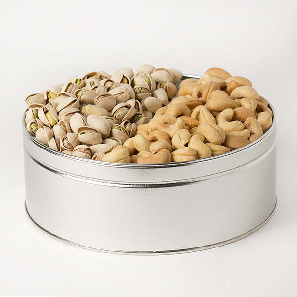 Treasured Delights (Med) - Salted Cashews & Salted Pistachios