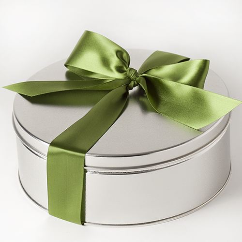 Treasured-Delights-Gift-Tin-Pistachios-Cashews-Bow-Med