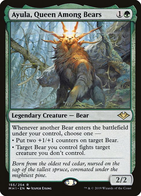 Ayula, Queen Among Bears