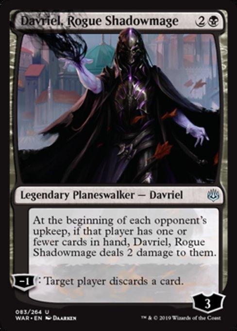 Davriel, Rogue Shadowmage