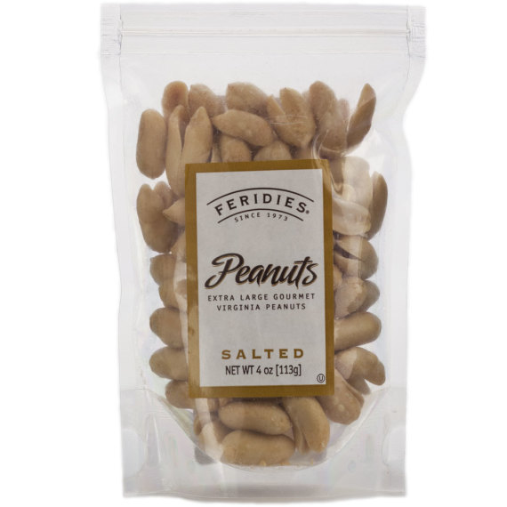 4oz Salted Virginia Peanuts