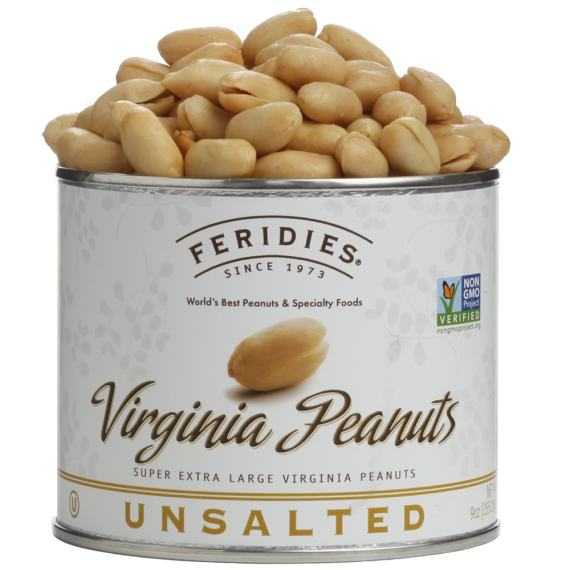 9oz Unsalted Virginia Peanuts