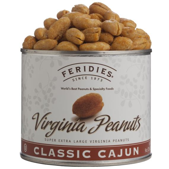 9oz Cajun Virginia Peanuts