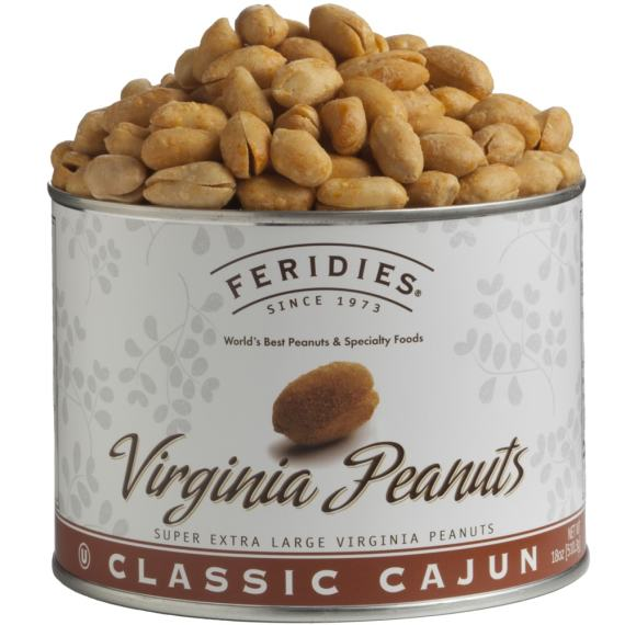 18oz Cajun Virginia Peanuts