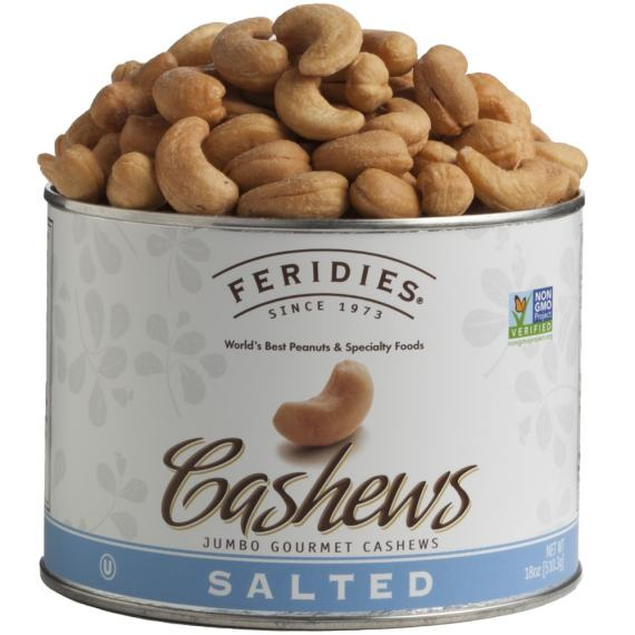 18oz Salted Cashews