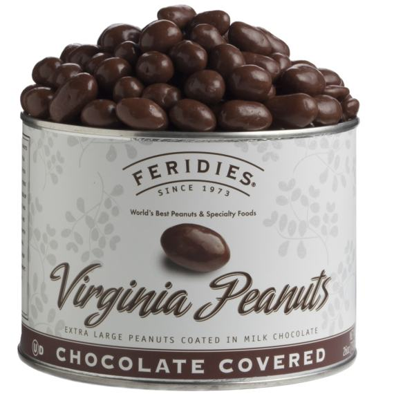 26oz Milk Chocolate Covered Virginia Peanuts