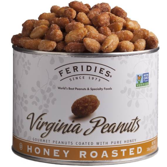 18oz Honey Roasted Virginia Peanuts