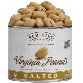 9oz Salted Virginia Peanuts