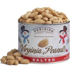 18oz Salted Peanuts - Snowmen