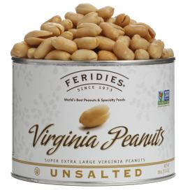 18oz Unsalted Virginia Peanuts