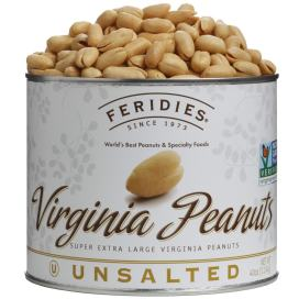 40oz Unsalted Virginia Peanuts