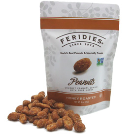 3oz Honey Roasted Peanuts