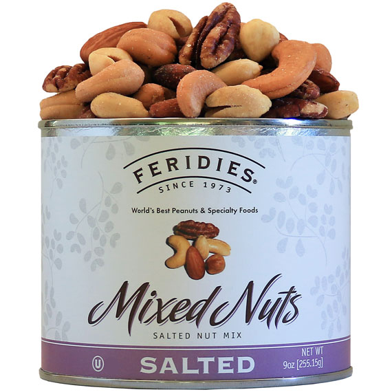 9oz Salted Mixed Nuts