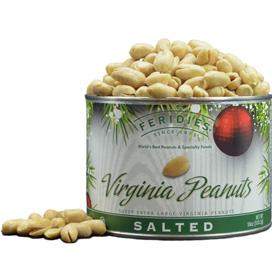 18oz Salted Peanuts-Holiday Ornaments