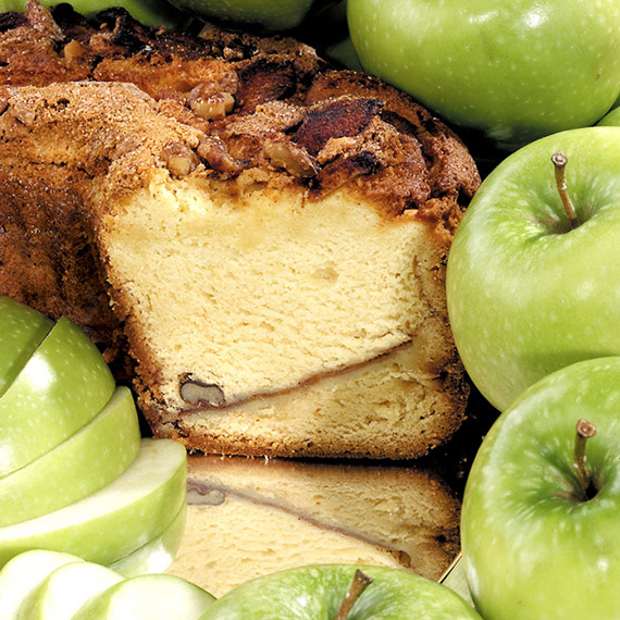Small Granny Smith Apple Coffee Cake