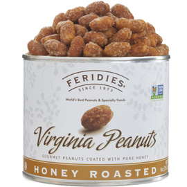 Honey Roasted Virginia Peanuts