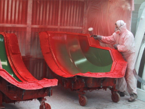 Gel Coat Spraying