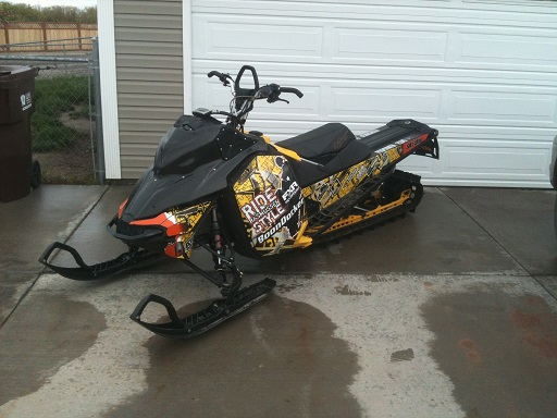 Micah Shuster Snow Mobile