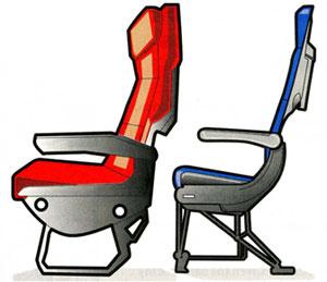 Carbon Fiber Airline Seats