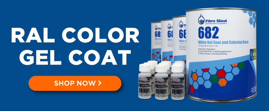 RAL Color Gel Coat